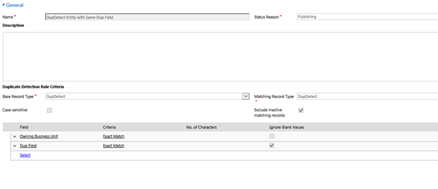 CRM 2013 SP1 Duplicate Detection Bug – Really a bug or