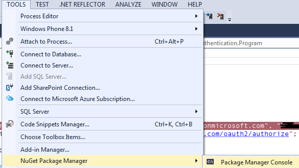 Dynamics CRM+ Authentication}–Authentication with Dynamics CRM
