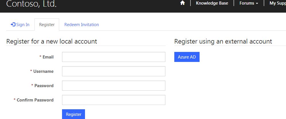 Dynamics 365 + ADX portals} Using site setting to disable