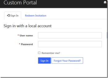 Dynamics 365 + ADX portals}–Redeeming invitations, modifying