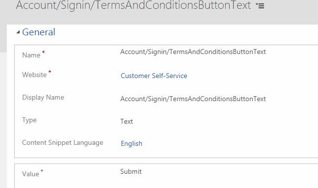 knowhow} Show terms and conditions page in Dynamics 365